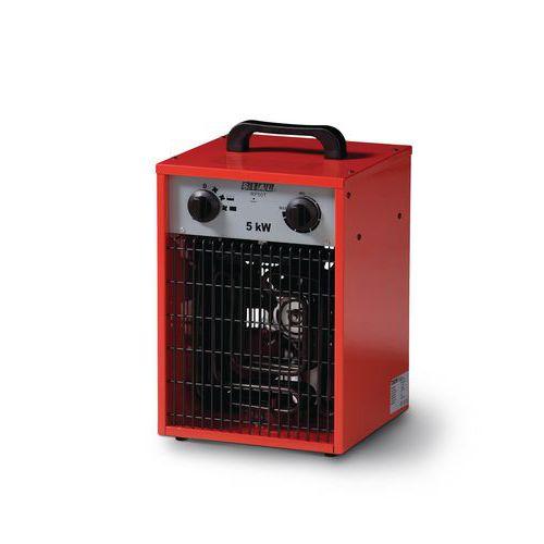 Chauffage air puls lectrique portable mod le for Chauffage air air avis