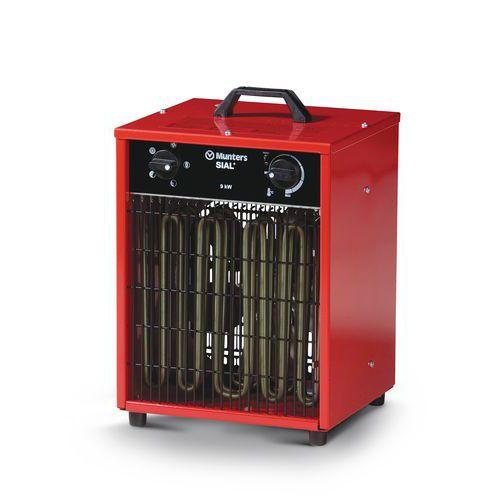 chauffage air puls lectrique portable mod le allumage automatique. Black Bedroom Furniture Sets. Home Design Ideas