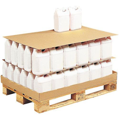 Intercalaires de palettisation carton