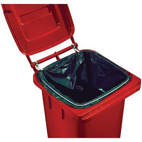 anneau porte sacs poubelles pour conteneur mobile 120 et 240 l. Black Bedroom Furniture Sets. Home Design Ideas