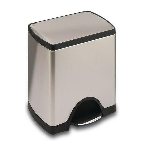 poubelle p dale simplehuman rectangular 38 46 et 50 l. Black Bedroom Furniture Sets. Home Design Ideas