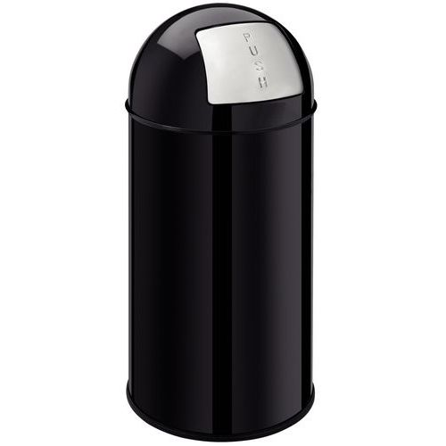 Afvalbak met drukknop - 40 l - Manutan