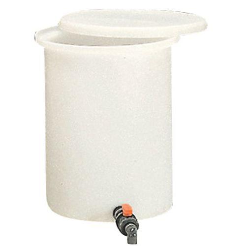 Cilindrische aftapbak - 100 tot 210 l - Promens
