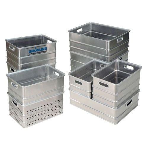 Bac de transport aluminium - Longueur 650 mm