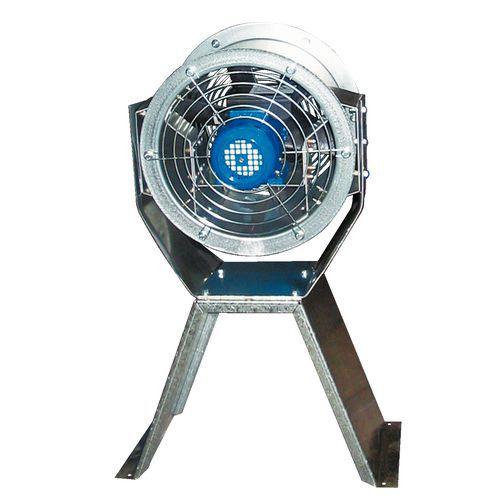 Ventilateur hélicoïde portable - 230 V mono