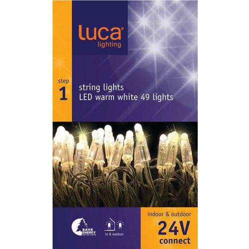 Verlichting Luca connect 24 startset transparant