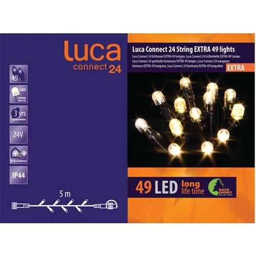 Verlichting Luca Connect 24 - verlengsnoer 49 led's