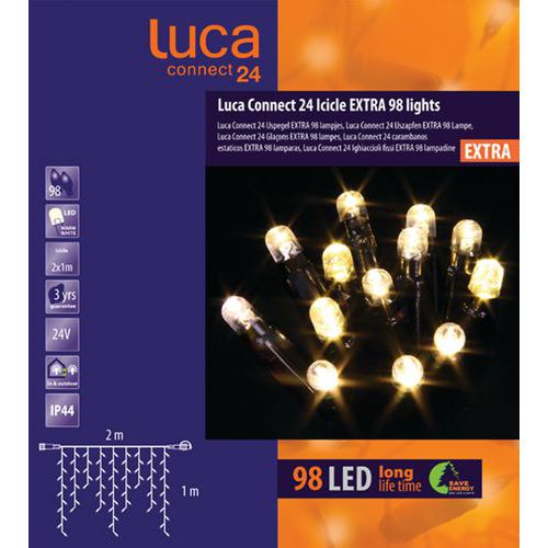 Verlichting Luca connect 24 - IJspegels