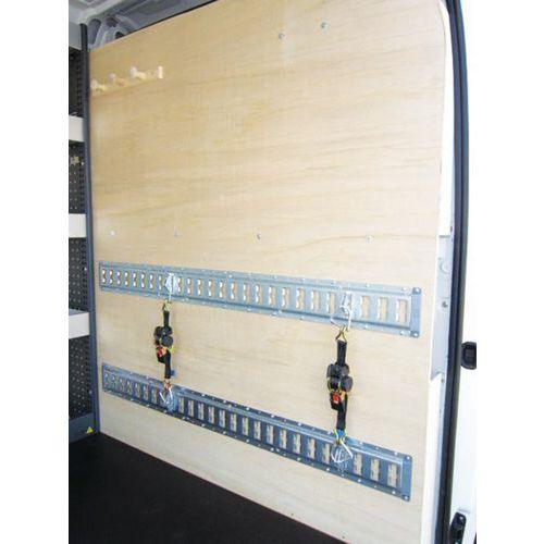 Autom. sjorband met ratel Rollo 1,8 m voor universele rail