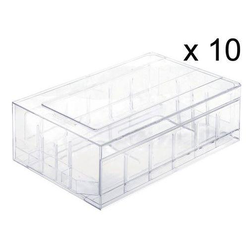 Bloc-tiroir en polystyrène cristal - Par lot