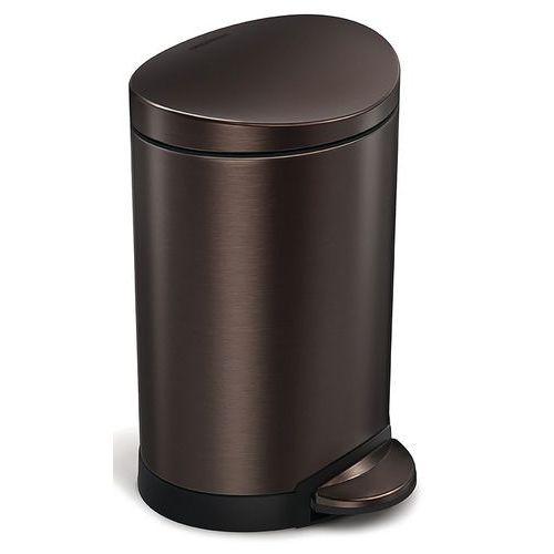 Afvalbak met pedaal halfrond 6l - Simplehuman