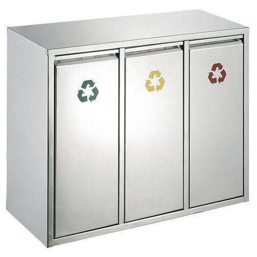 Afvalbak afvalscheiding 3x8l
