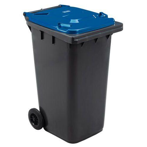 Mobiele container Manutan - 240 liter