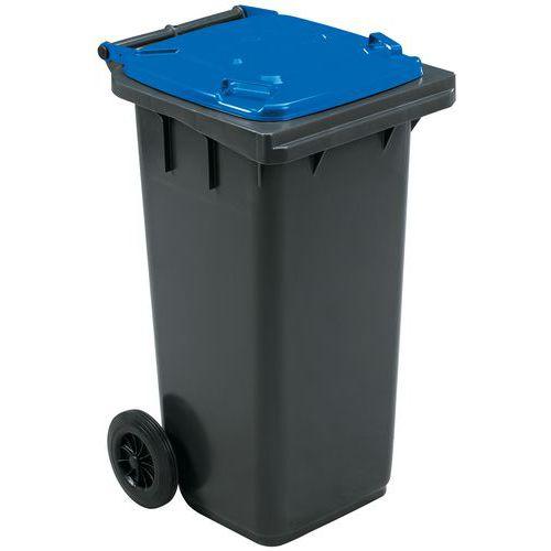 Mobiele container voor afvalscheiding - 120l - Manutan
