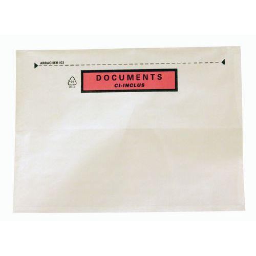 Paklijstenvelop Fast-List - Met  of zonder opdruk - Superieur polyethyleen