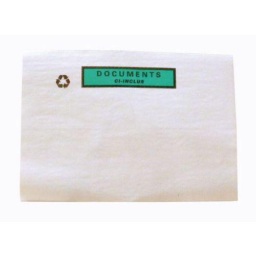 Paklijstenvelop Fast-List - Met en zonder opdruk - Kristalpapier