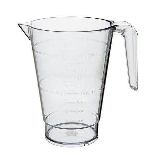 Karaf met maatverdeling 1 liter