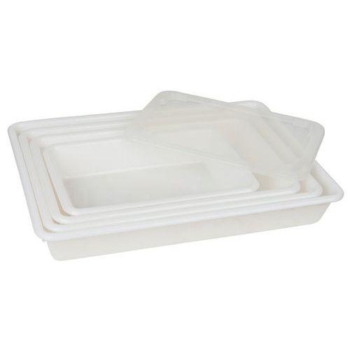 Bac alimentaire rectangulaire plat - Longueur 350 mm à 540 mm - 3 à 10 L - Matfer