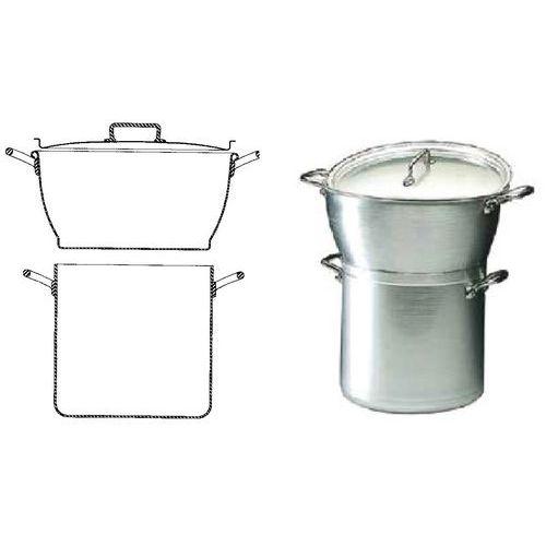 Couscous maker van aluminium