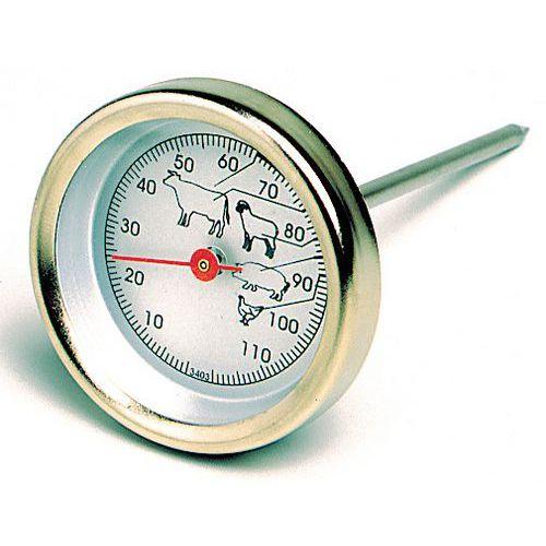 Thermometer met wijzerplaat