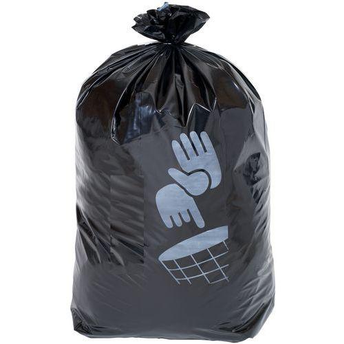 Afvalzakken zwart - Zwaar afval - 60 tot 160l - Manutan