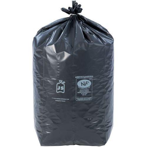 Afvalzak zwart - Zwaar afval - 60 tot 130l