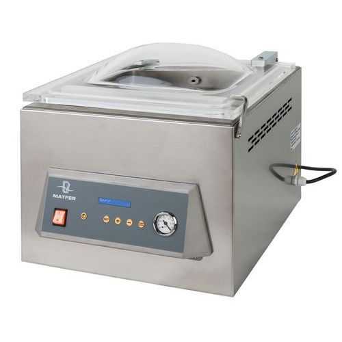 Vacuümmachine met klok