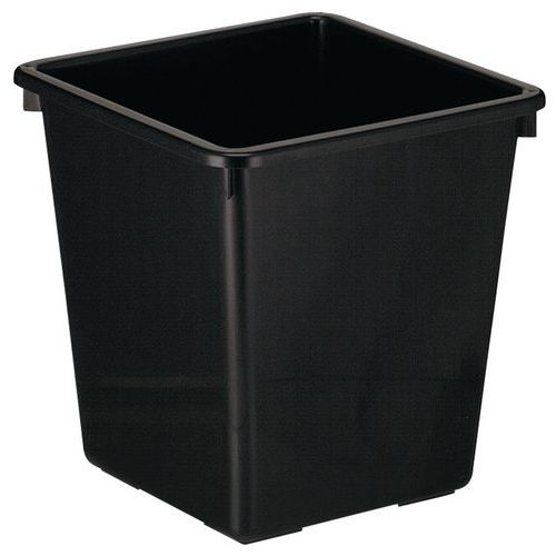 Vierkante prullenbak - 27 L