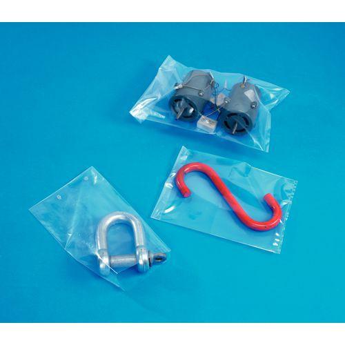 Neutraal kunststof zakje Minigrip® - 100 µm