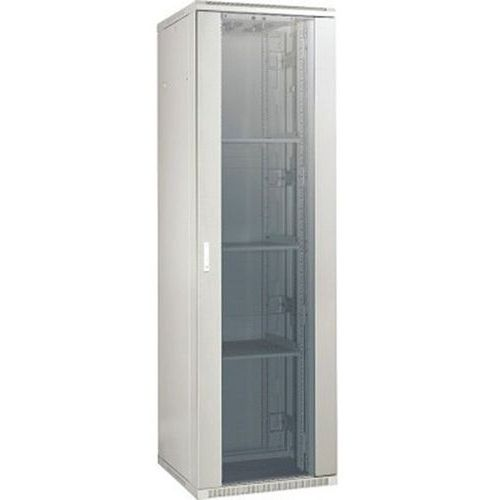 Netwerkkast DEXLAN 22U 600x600 (grijs) enkele deur