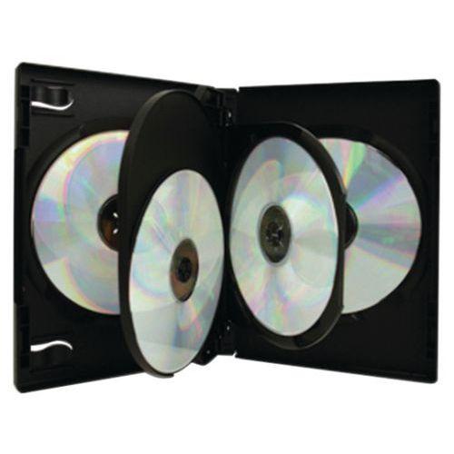 Opbergdoosje 4 DVD zwart