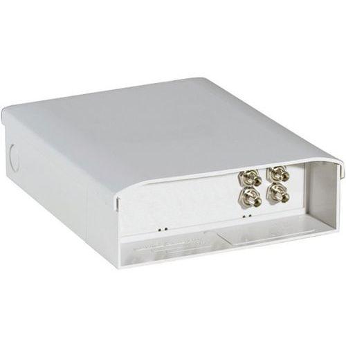 Optische doos voorzien van 4 ST connectoren