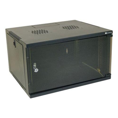 "Wandkast eco vast DEXLAN 19"" 20U prof 600 mm (zwart)"
