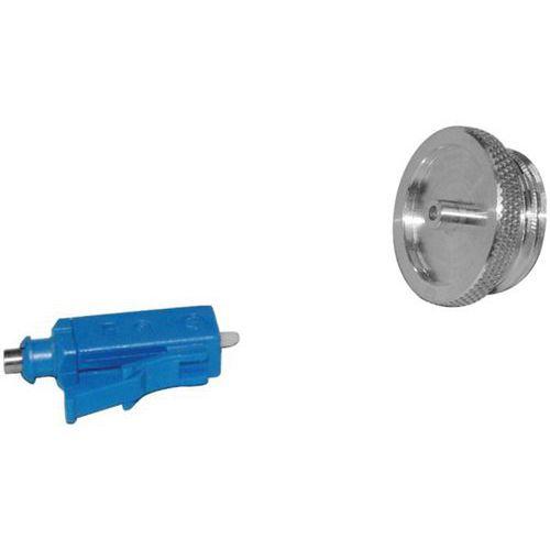 Lc-opzetstuk voor microscoop vergroting X100-X150