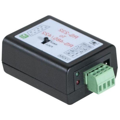 RS232 naar RS422 /485 Mini-converter met 4-draads terminator