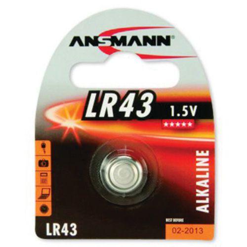 Batterij Alkaline ANSMANN 5015293 LR43