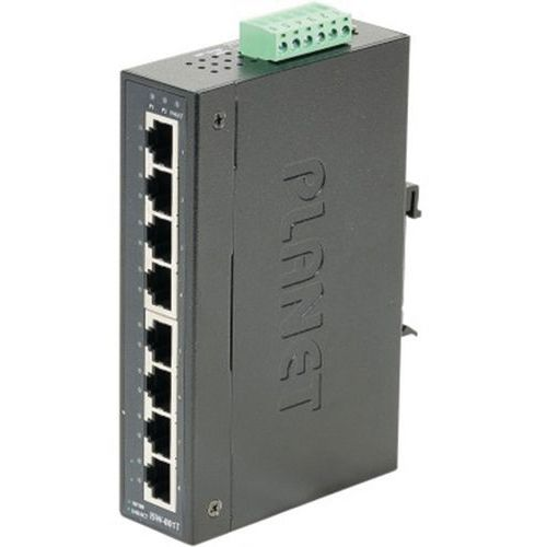Planet IGS-801T IND SWITCH 8P 10/100 - 40/75