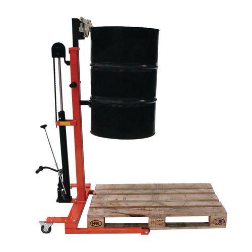 Vatenheffer metaal hydraulisch - Hefvermogen 300kg