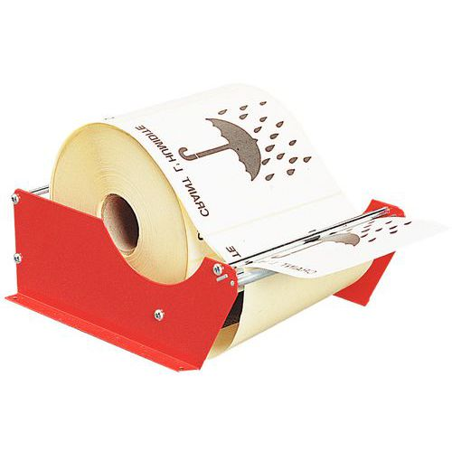 Distributeur manuel d'étiquettes - À fixer