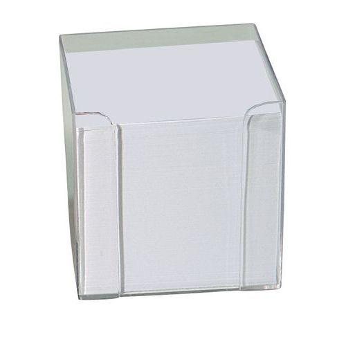 Bloc mémo cubique