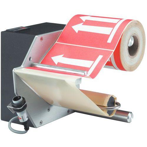 Distributeur électrique d'étiquettes - Largeur 110 mm