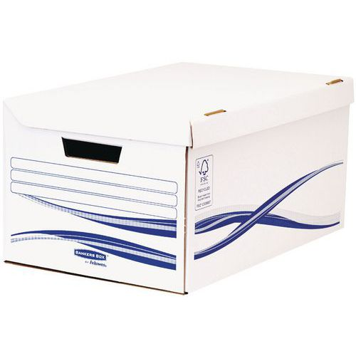 Transfer archiefbox Bankers Box Basic A4+ voor archiefdozen