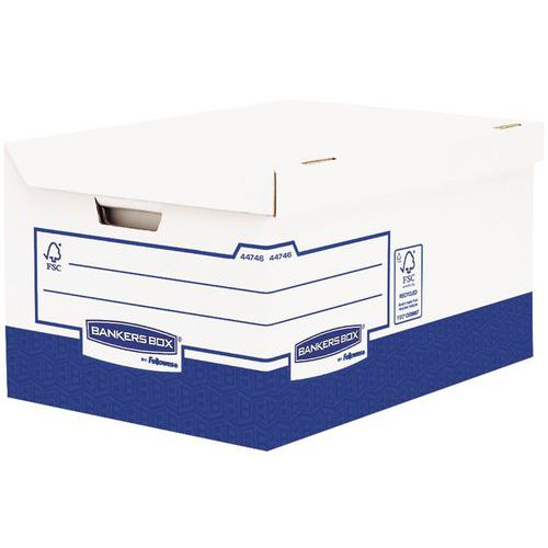Transfer archiefbox Bankers Box Heavy Duty A4+ voor archiefdozen