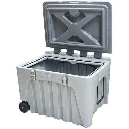 Kist Op Wielen.Industriele Afsluitbare Kist Op Wielen