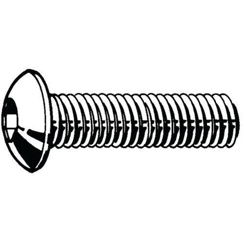 Laagbolkopschroef met binnenzeskant RVS A4 Rechts_55030