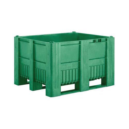 Kunststof palletbox uit één stuk - 3 sleden
