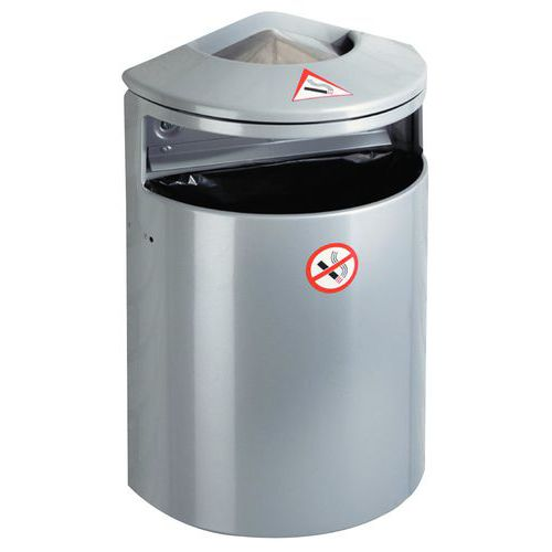 Wandasbak met afvalbak - 13 l