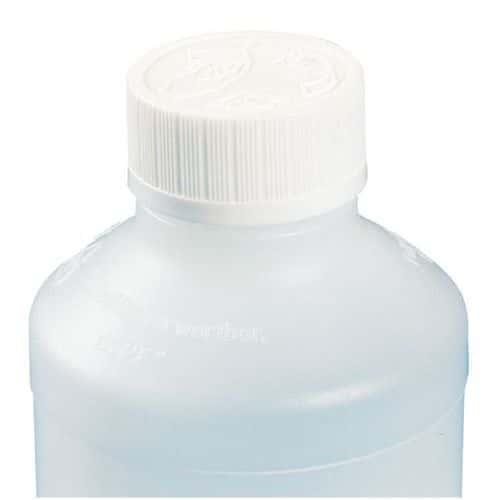 Dop voor PEhd DIN 28-flessen - niet voor voedingsmiddelen