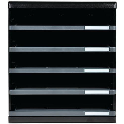 Ladenbox 5 open ecoblack modulo A4 Exacompta