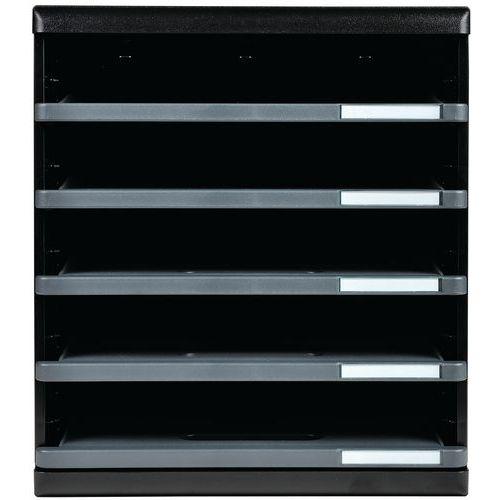 Modulo a4 tiroirs ouverts